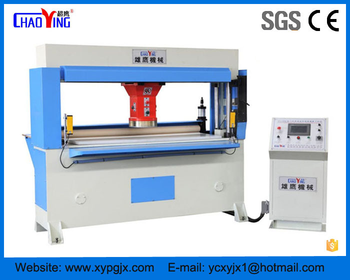 Automatic Feeding CNC Traveling Head Beam Press/Cutting Press Machine