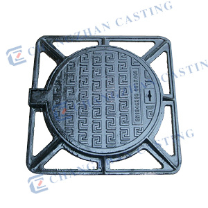 En124 Duble Seal Ductile Iron Manhole Covers Use for Highway D400