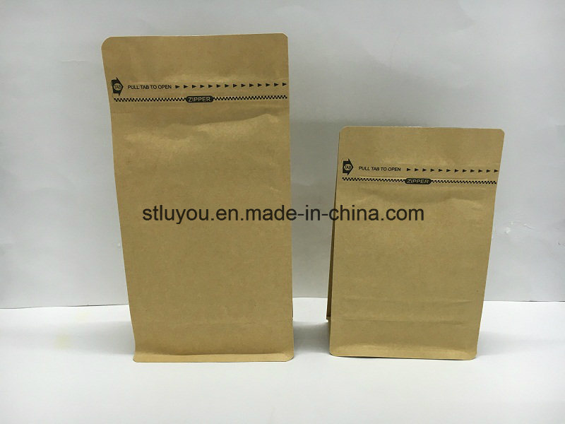 500g Customized Matt Stand up Zipper Coffee Bag