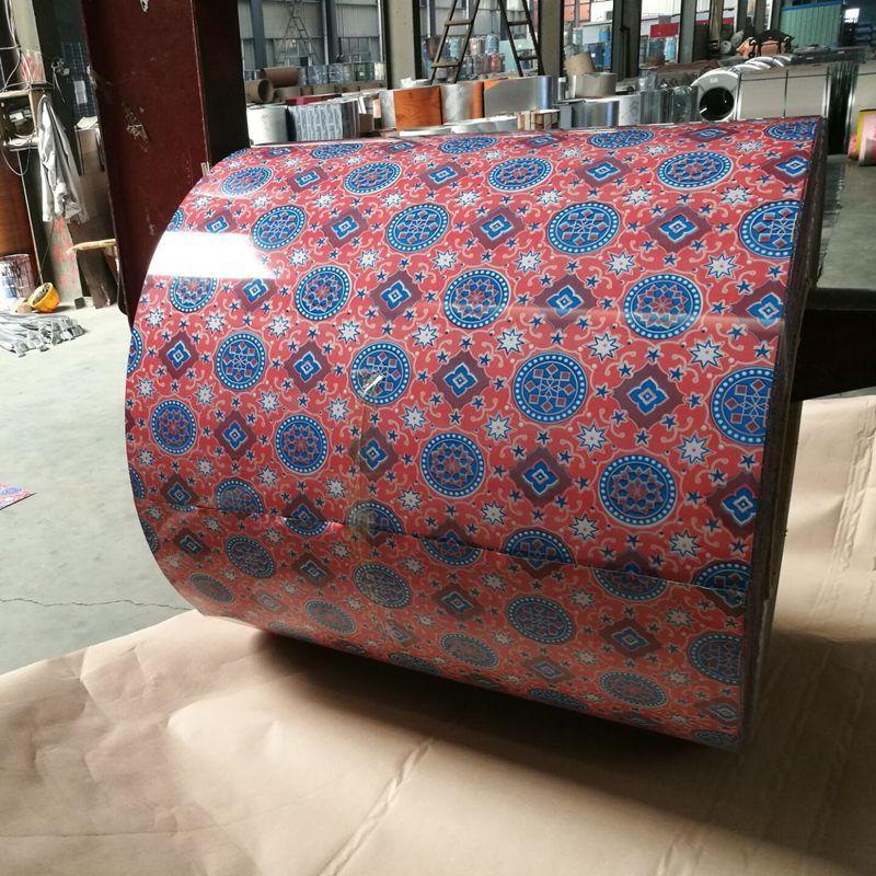 Flower Designs of Color Coated Steel Coils