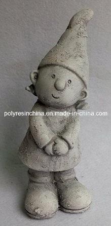 Cheap Outdoor Magnesia/MGO Garden Decorative Boy Statue