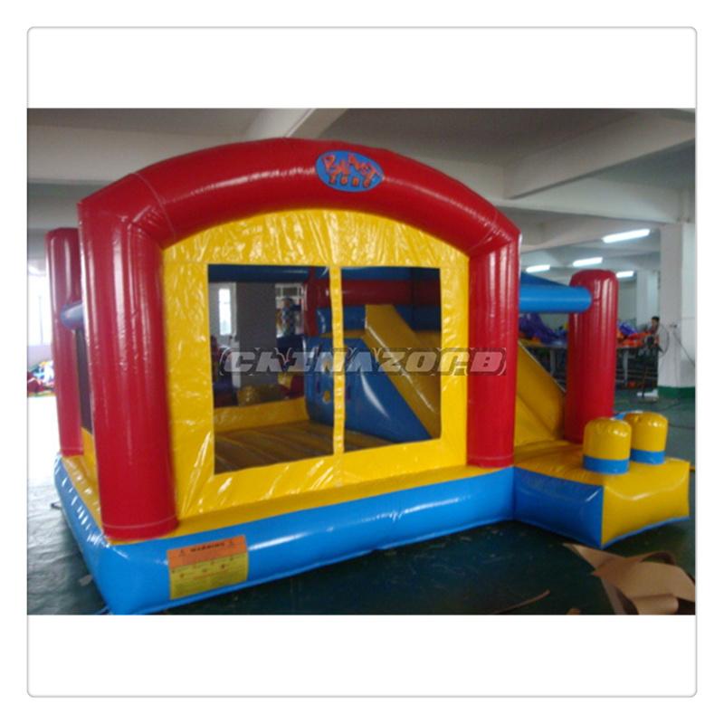Commercial Grade 0.55mm PVC Tarpaulin Inflatable Bounce House Bouncy Castle