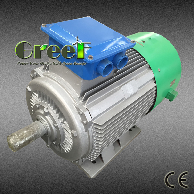 Low Speed Permanent Magnet Generator/Alternator with Ce