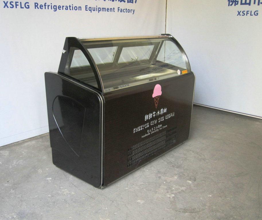 Mini Ice Cream Display Freezer