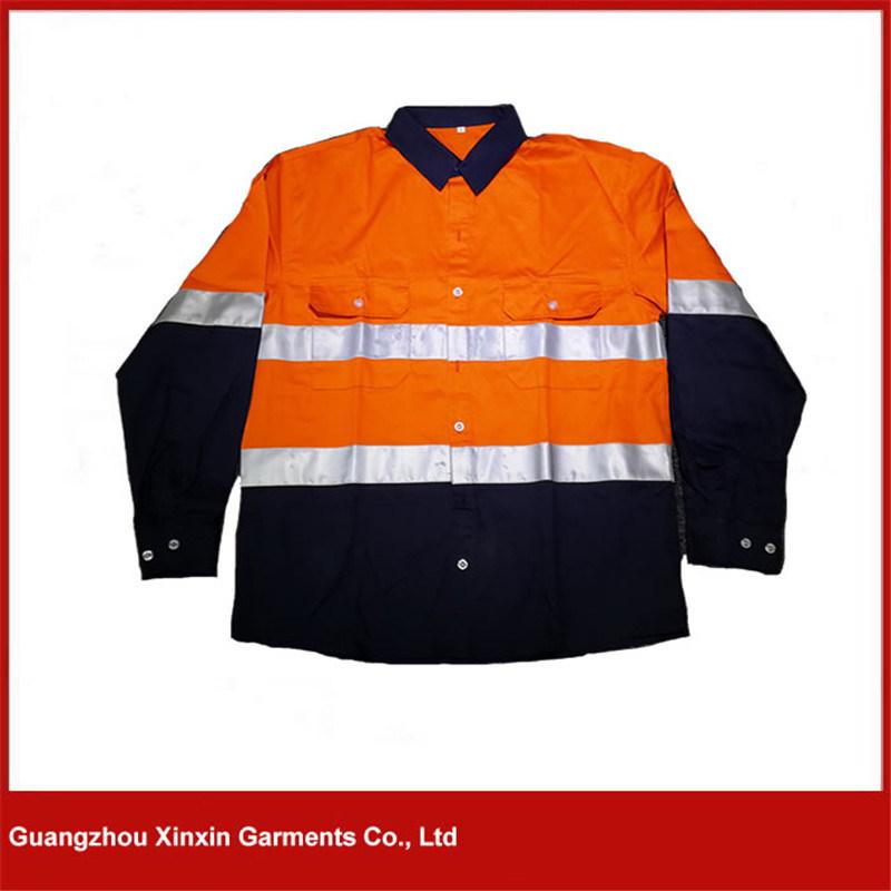 Custom Work Safety Wear with Pockets (W34)