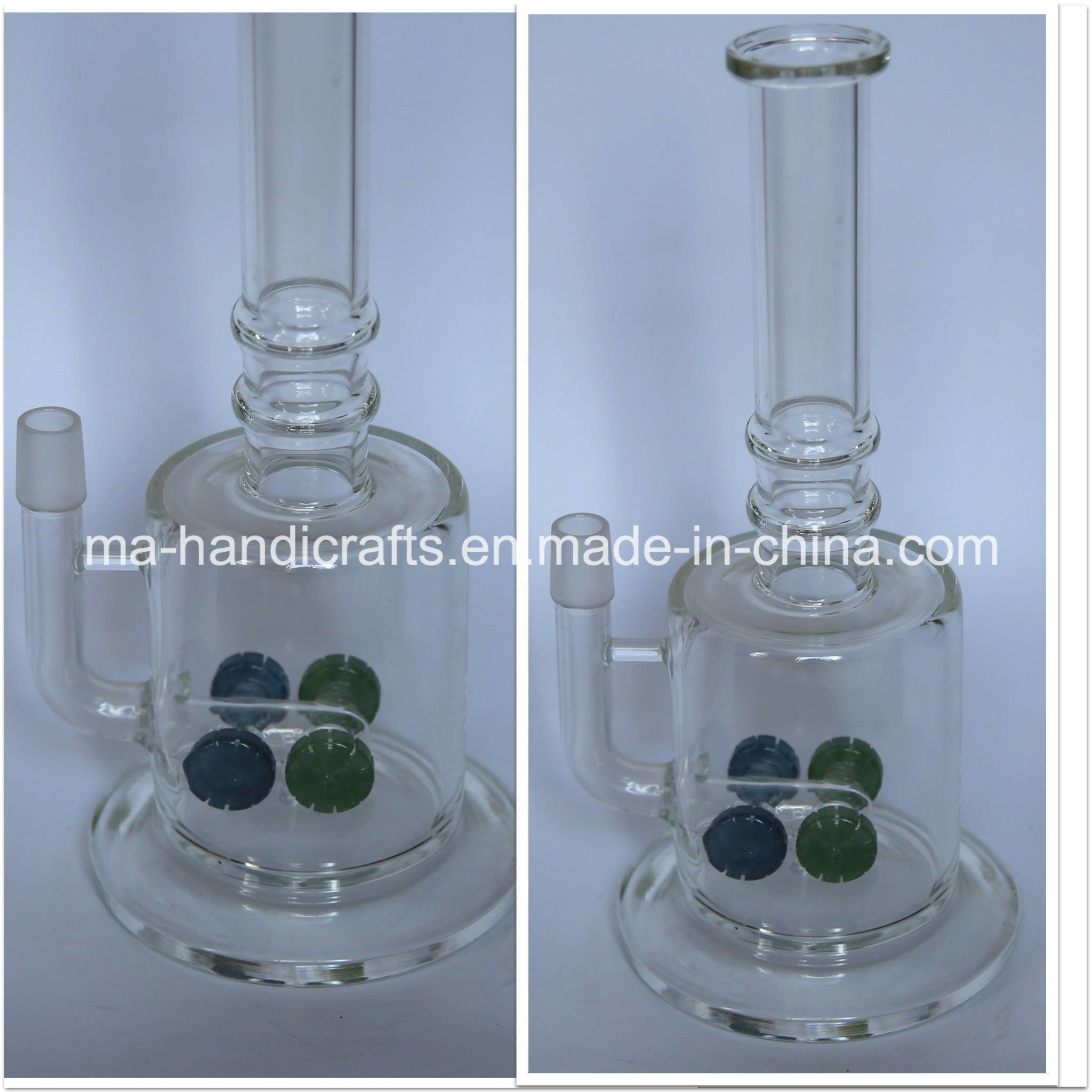 """12"""" Four Matix Percolator Glass Water Pipes Smoking Pipe Glass Bubbler Oil Rigs DAB Rigs"""