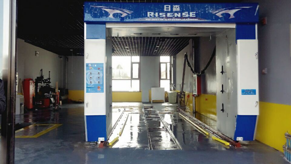 Automatic Roll-Over Touch Free Car Washing Machine