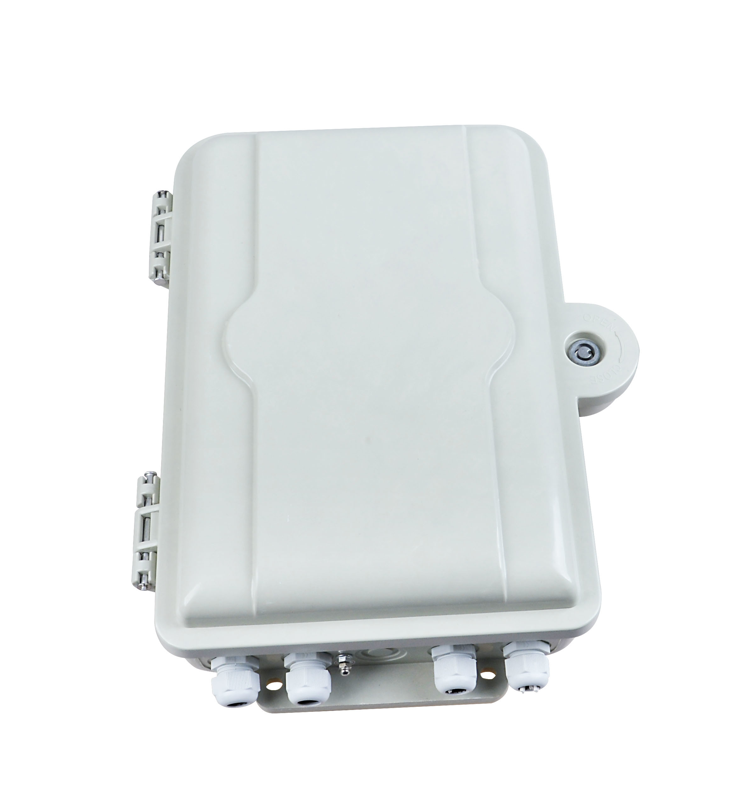 1X16 SMC Optical Cable Distribution Box FTTH Distribution Splitter Box