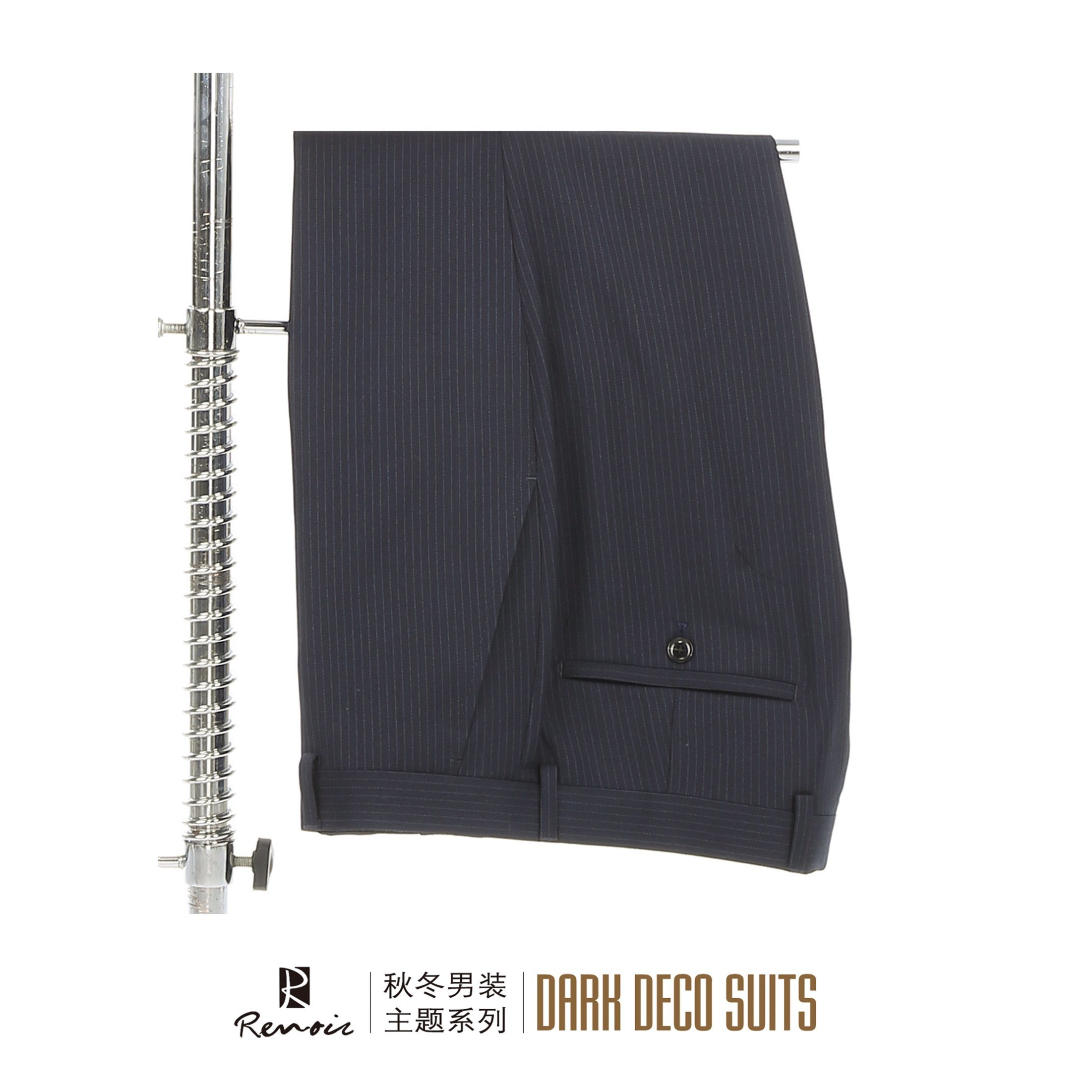 OEM Peak Lapel Slim Fit Men′s Business Suit