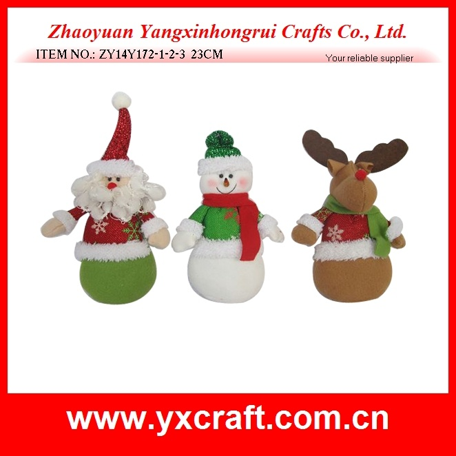 Christmas Decoration (ZY14Y172-1-2-3) Christmas Ornament Toy Dress Party