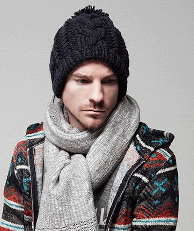 Beckham Fashion Knitting Knitted Winter Hat