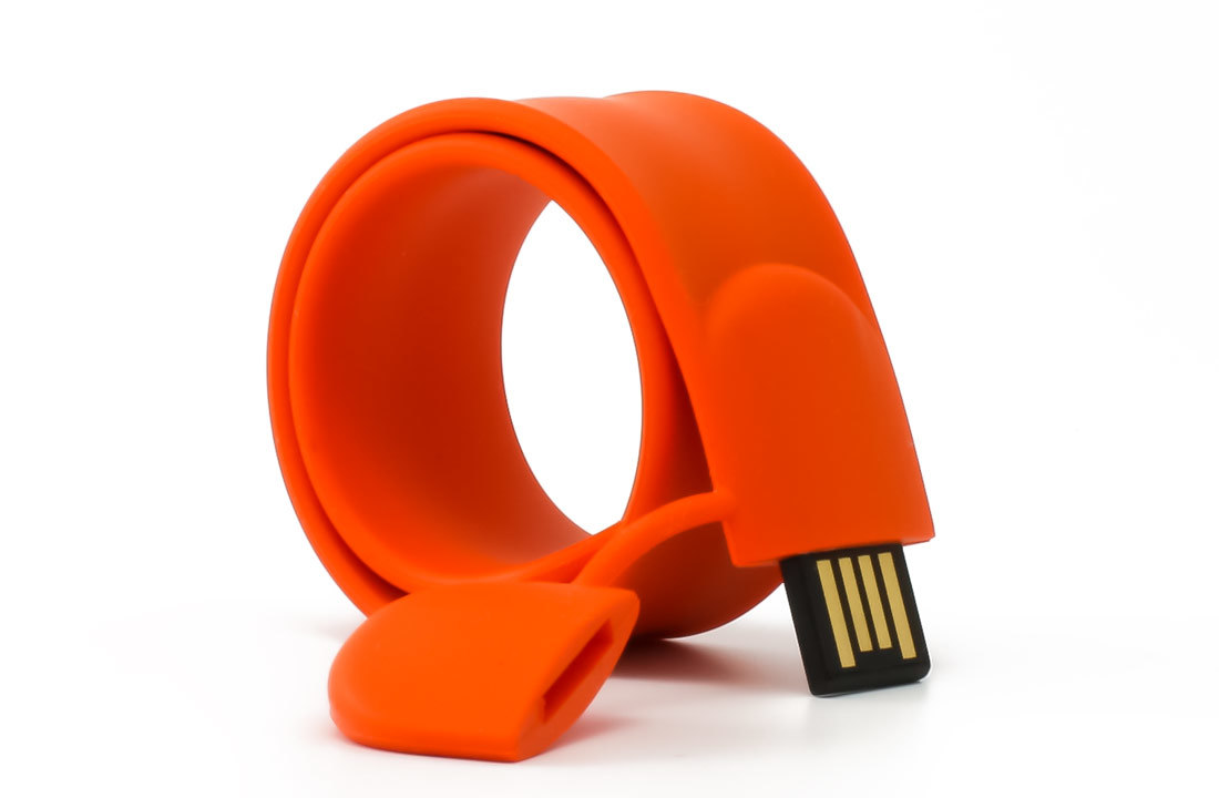 Slap Bracelet Shaped 8GB USB Flash Drive