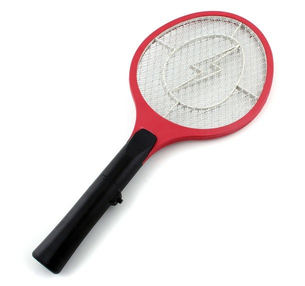 Rechargeable LED Electric Mosquito Killer Fly Swatter Zapper Bug Swatter Racket