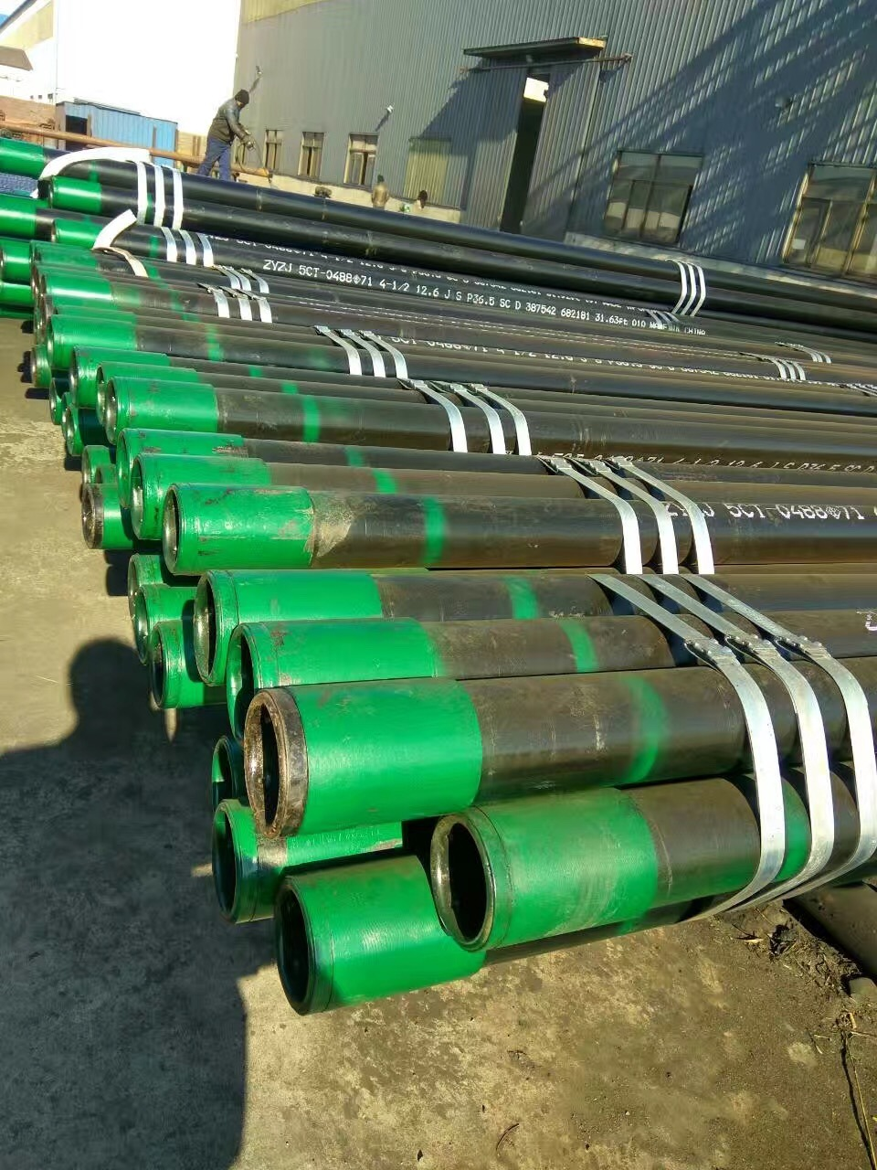API Seamless Large or Small Od Casing and Tubing