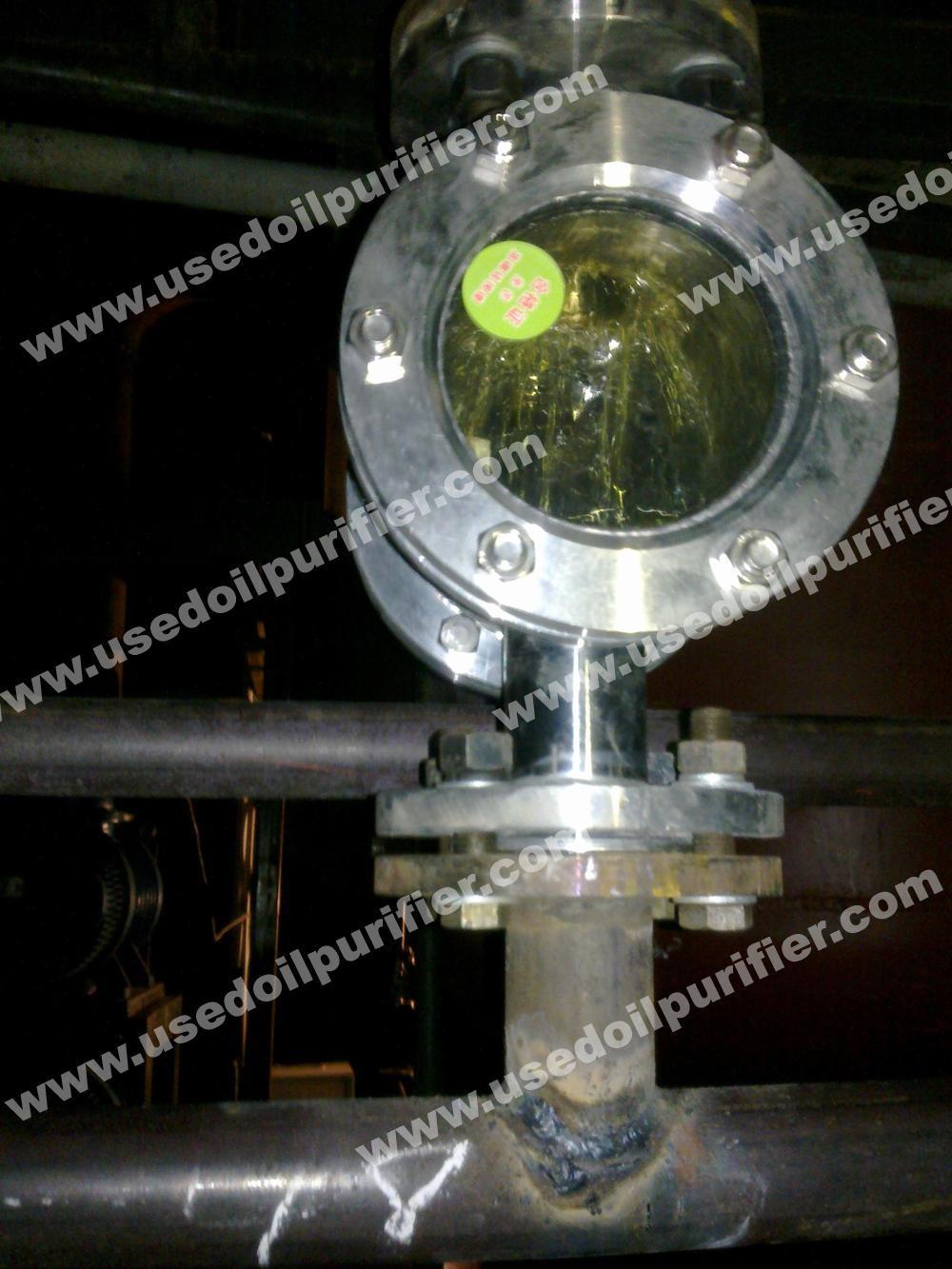 China Dir Diesel Engine Oil Re Refining System Black