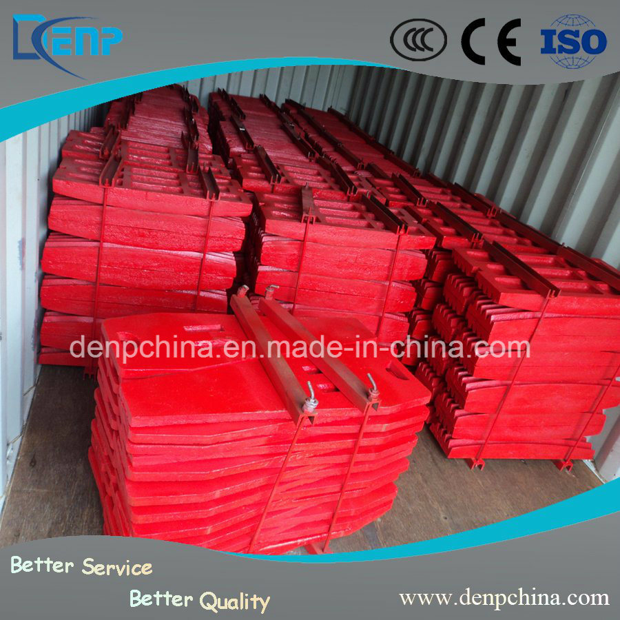 High Manganese Steel Jaw Crusher Spare Wear Parts
