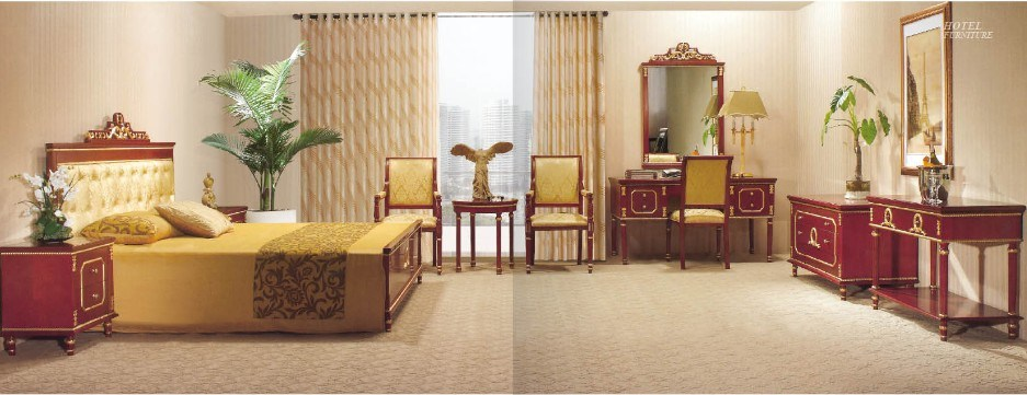 china hotel luxury antique star room and king size bedroom furniture