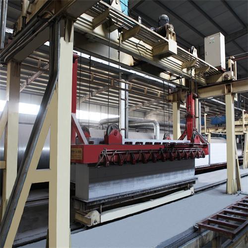 AAC Concrete Brick Making Machinery, AAC Block Machine Production Line