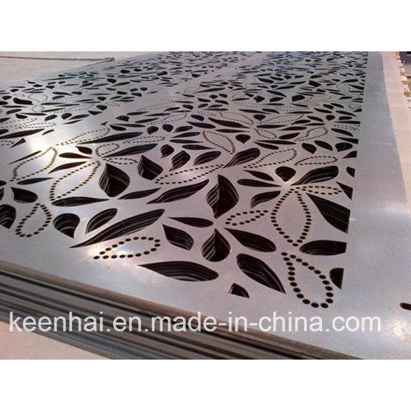 Exterior Decorative Aluminium Perforated Facade Metal Panel