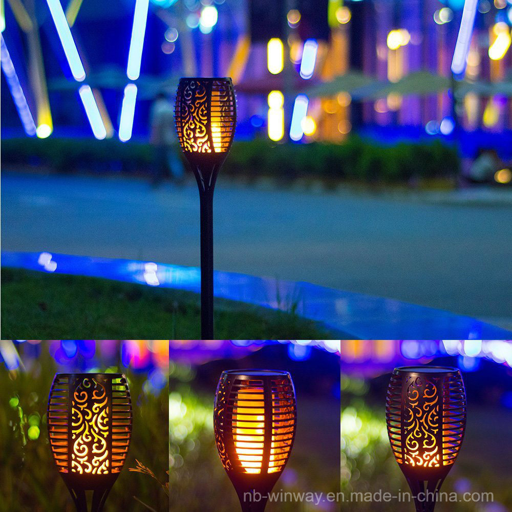 Trueflame Solar Torch Light with Flickering Flame