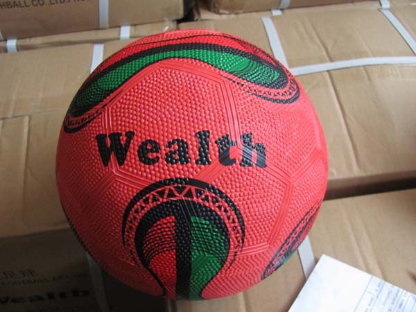 Rubber Soccer Ball for Promotion