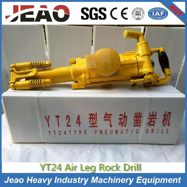 Yt24 Gold Mining Rock Drill Jack Hammer for Mining
