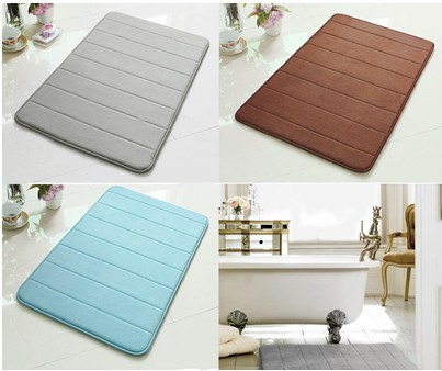 Memory Microfiber Foam Bathroom Mat/Rugs Mm001