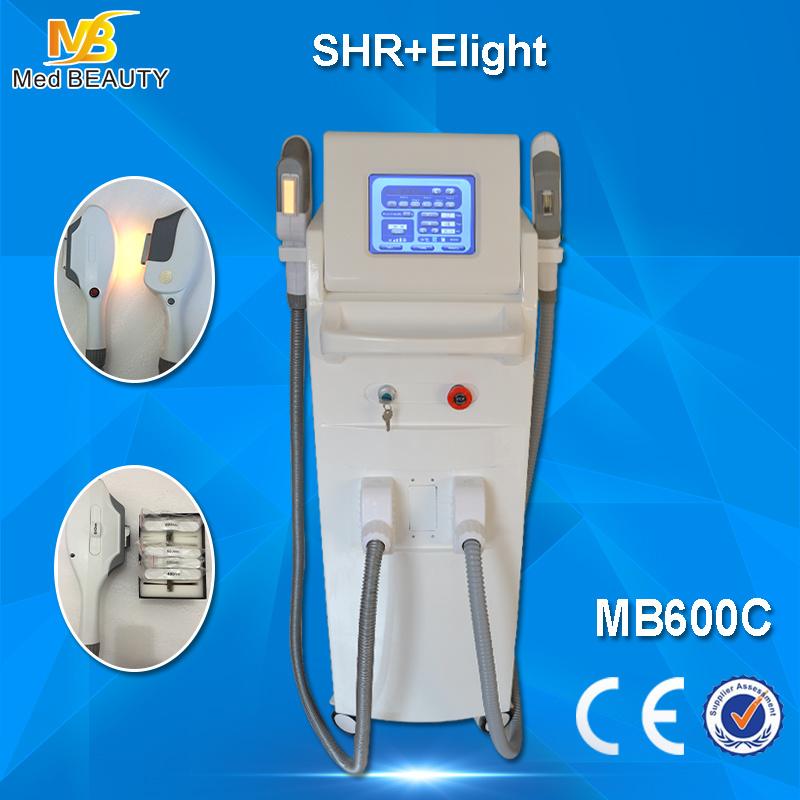 Shr/IPL Hair Removal Machine YAG Laser Tattoo Removal RF Skin Rejuvenation Pigmentation Therapy