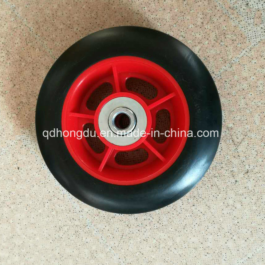 Solid Rubber Wheel for Wheel Barrow and Hand Trolley