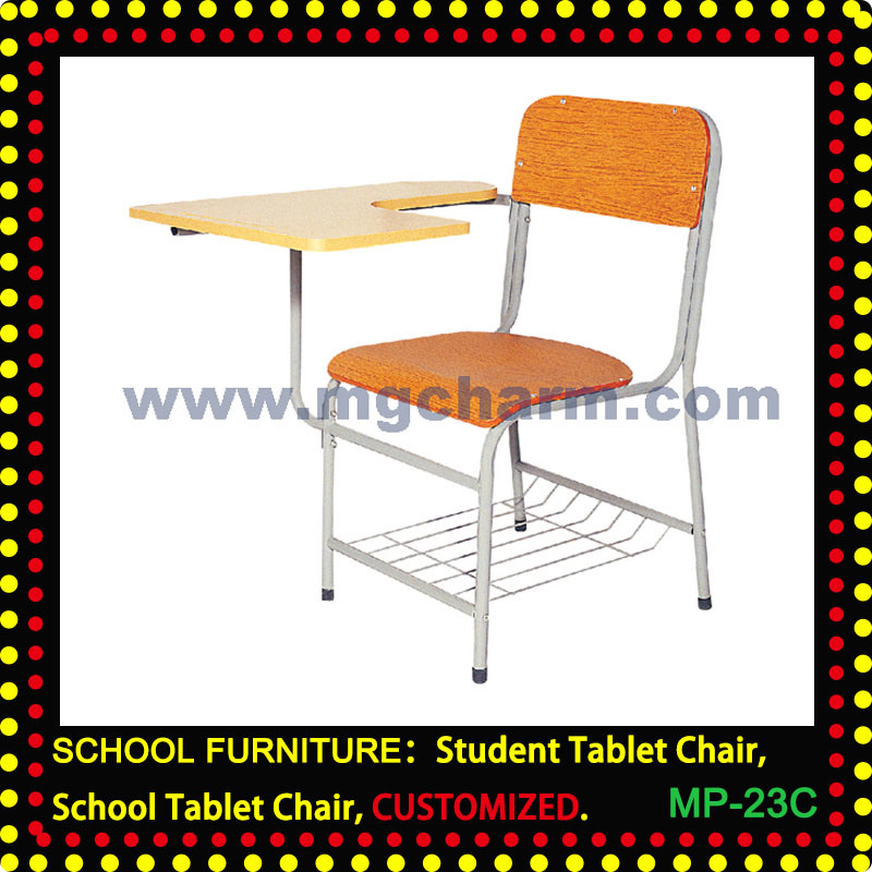 Student Tablet Chair, School Writing Chair, Training Chair