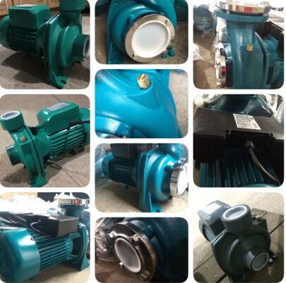 Electric Hf-6b Centrifugal Pump 1.5kw/2HP Brass Impeller