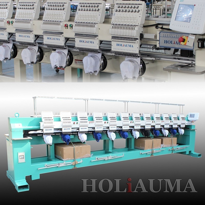 2016 Hot Sale Holiauma 6 Head Industrial Embroidery Machine Factory Direct Price