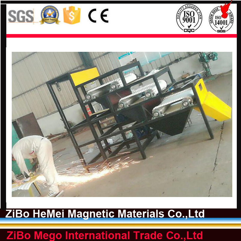 Dry Magnetic Separator for Limonite Hematite Mineral Machinery