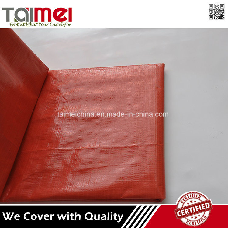 High Quality PE Heated Lumber Tarpaulin