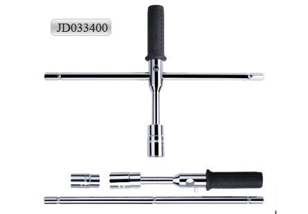 Chrome Vanadium Steel X Cross Wrench (JD033400)