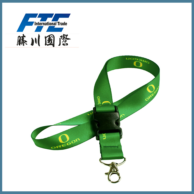 Factory Price All Kinds Wholesale Colorful Polyester Lanyard Custom Lanyard