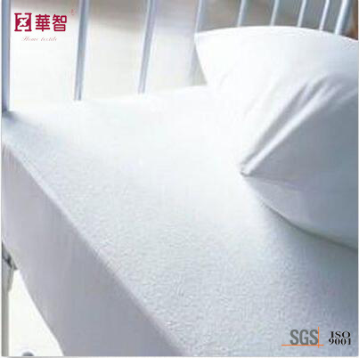 Cotton Terry Waterproof Fitted Sheet Mattress Protector
