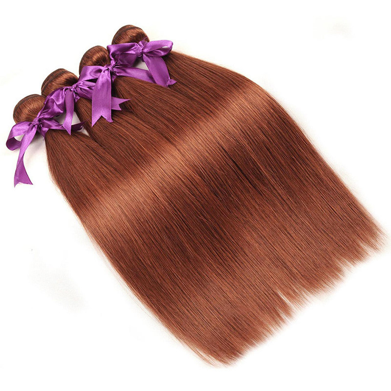 Peruvian Hair Bundles 100% Human Hair Weave Pure 33 Color 10′′-26′′ Non Remy Hair Extension