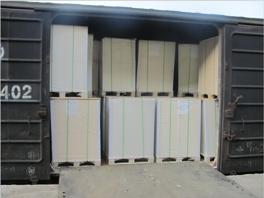 Virgin Wood Pulp Cardboard Paper Folding Box Board / Grey Cardboard Paper/Ivory Board