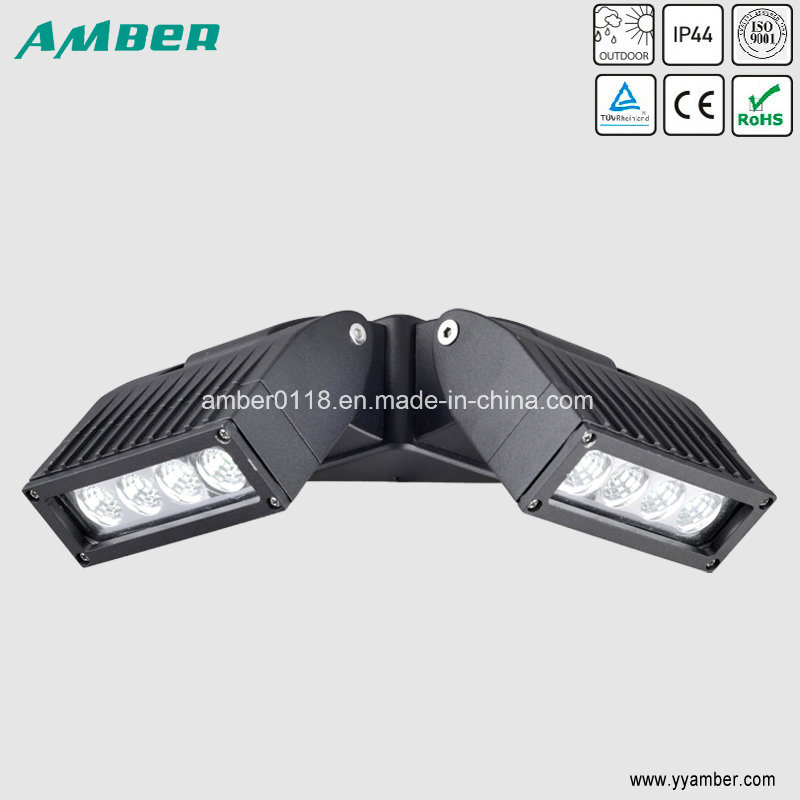 Adjustable Two Head 16W COB LED Wall Light with Ce