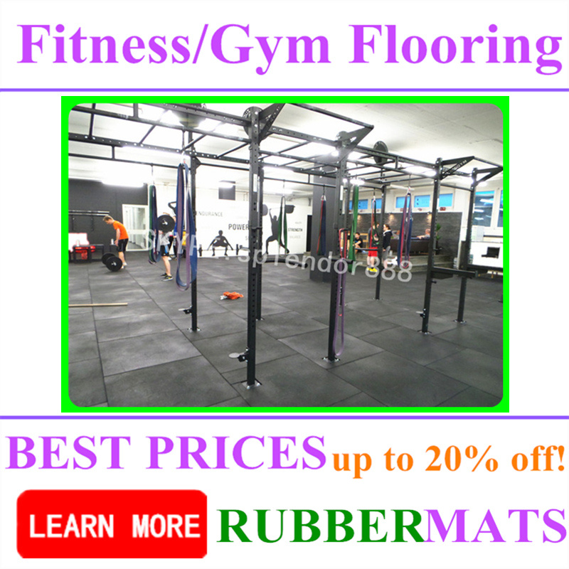 Colorful Commercial Rubber Waterproof Tile Flooring Mat