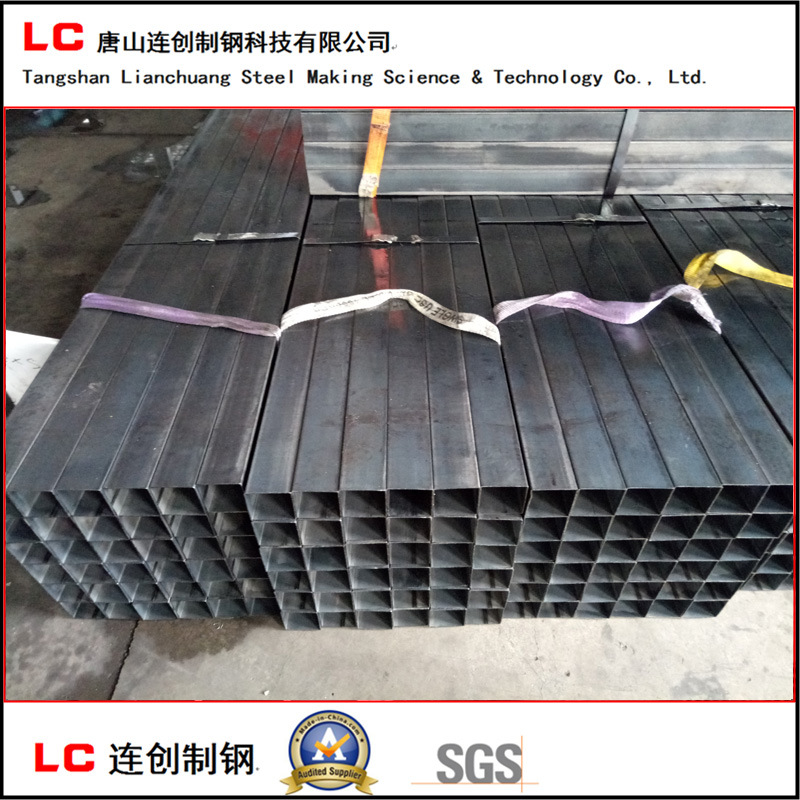 Oiled Black Square Steel Pipe with Waterproof Fabric