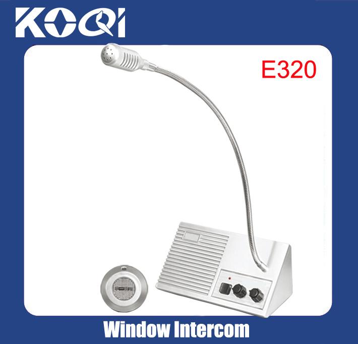 China Manufacturer Bank Window Intercom Speaker