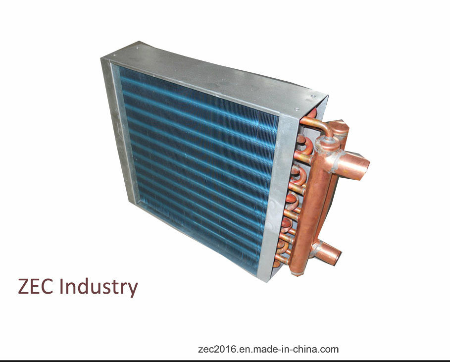 Fin Tube Heat Exchanger with Fan