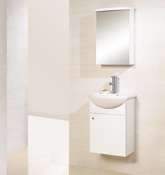 wood white bathroom unit with mirror cabinet gbw004 china bathroom