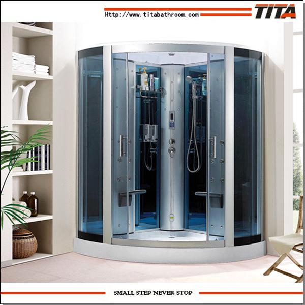 2014 Big Size Shower Cabinet Ts7150bl