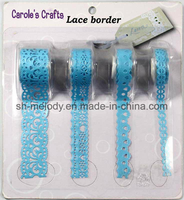 Self-Adhesive Die Cut Craft Lace Border