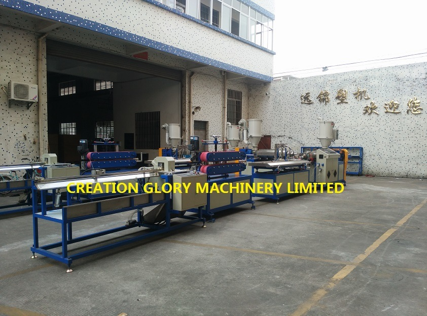 Stable Performance High Capacity Plastic Profile Extruding Manufacturing Machinery
