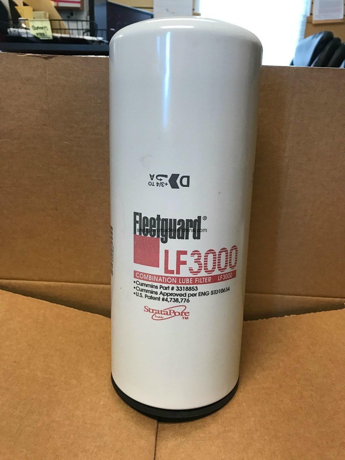 Oil Filter LF3000 for Cummins Engine