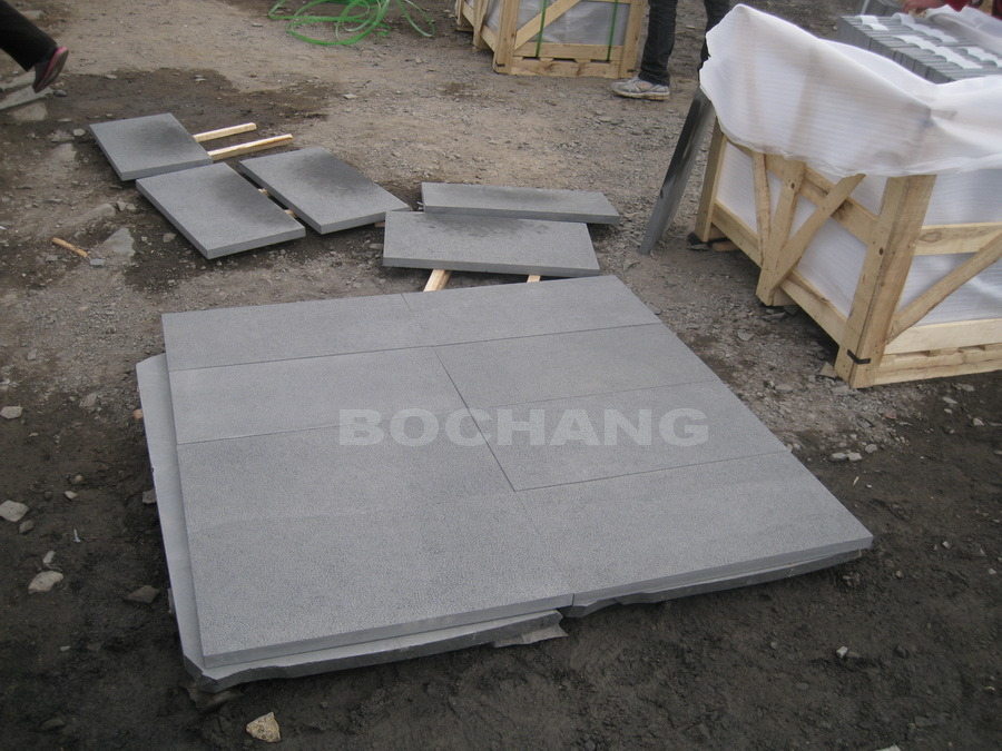 Mongolia Black Granite Floor Tile and Wall Tile Stone